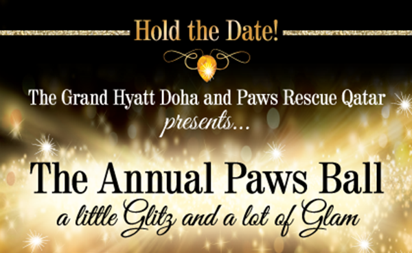 Paws Ball 2017 at the Grand Hyatt Doha